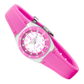 Calypso Mini Kinderhorloge 10ATM 25mm Pink
