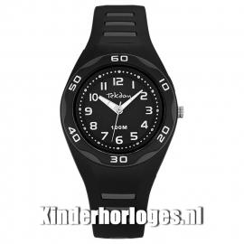 Tekday Horloge met Cijferverlichting 100m Zwart/Grijs