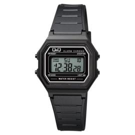 Q&Q Kinderhorloge Digitaal Stopwatch Alarm Zwart 34mm