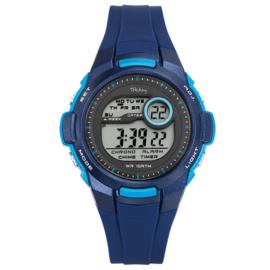 Tekday Stopwatch Kinderhorloge Digitaal Alarm 100m Blauw