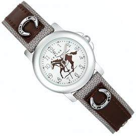 Certus Meisjes Horloge Pony 26mm Bruin