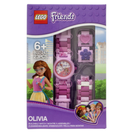 LEGO Friends Olivia Schakelband Meisjeshorloge