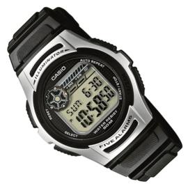 Casio Digitaal Horloge met 5 Alarmen 38mm