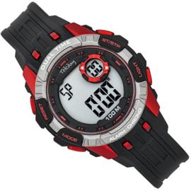 Tekday Digitaal Kinderhorloge Alarm 100m Rood