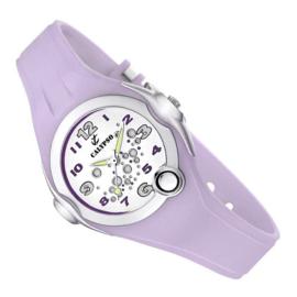 Calypso Bubbels Horloge Wijzerplaatverlichting 32mm Lila