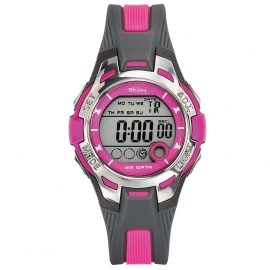 Tekday Digitaal Sporthorloge Stopwatch Alarm 100m Roze