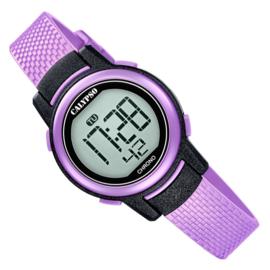Calypso Digitaal Kinderhorloge Alarm Stopwatch 10ATM 29mm Lila
