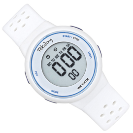 Tekday Digitaal Kinderhorloge Stopwatch 100m Wit
