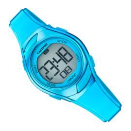 Calypso Digitaal Kinderhorloge Alarm Chrono 10ATM 29mm Blauw