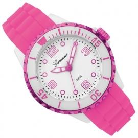 Garonne Sportief Meisjeshorloge Roze Wit 36mm