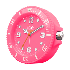Ice-Watch Wekker Ice-Clock Fluor Roze 14 cm - Geruisloos