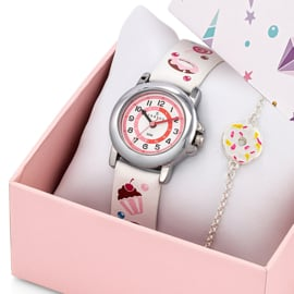 Certus Giftset Candy - Horloge met Armband 26mm Wit