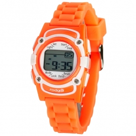 Rodger Trilhorloge 8 Alarmen Orange Joy