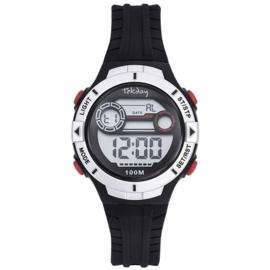 Tekday Stopwatch Kinderhorloge Alarm 100m Zwart
