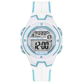 Tekday Digitaal Sporthorloge 3 Alarmen 100m Wit