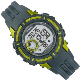 Tekday Stopwatch Kinderhorloge Digitaal Alarm Geelgroen 100m