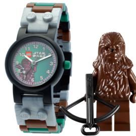 LEGO Star Wars Chewbacca Minifiguur Kinderhorloge