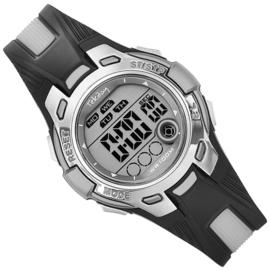 Tekday Digitaal Stopwatch Horloge Alarm 100m Grijs