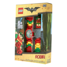 LEGO Batman Movie Robin Schakel-Minifiguur Kinderhorloge