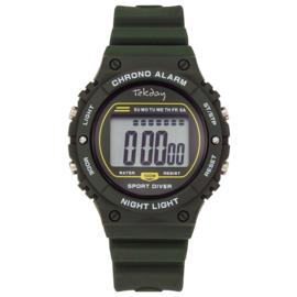 Tekday Sport Diver Digitaal Horloge 10ATM Groen