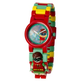 LEGO Batman Movie Robin Schakel-Minifiguur Kinderhorloge