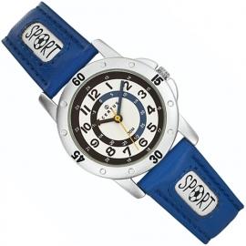 Certus Sport Jongenshorloge Klokkijkhulp 30mm Blauw