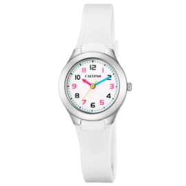 Calypso Kinderhorloge 10ATM 28mm Wit