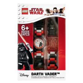 LEGO Star Wars Darth Vader II Schakel-Minifiguur Kinderhorloge