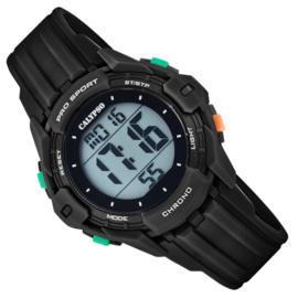 Calypso Kinderhorloge Alarm-Chrono 10 ATM 37mm Zwart