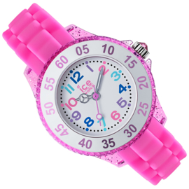 Ice-Watch Ice-Mini-Princess Swarovski® Small Roze 28mm