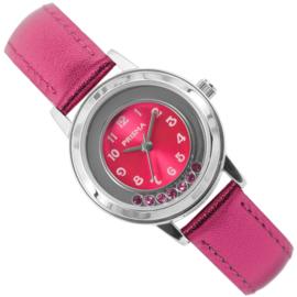 Prisma Meisjeshorloge Happy Diamonds Pink