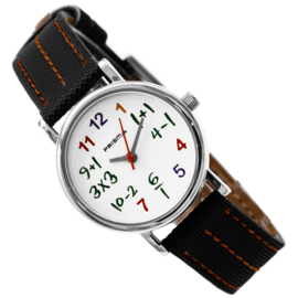 Prisma Levi 'Smartwatch' RVS met Extra Bandje Wit