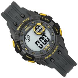 Tekday Digitaal Kinderhorloge Alarm 100m Zilvergrijs