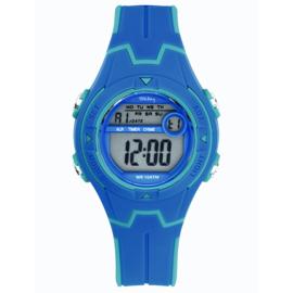 Tekday Digitaal Sporthorloge 3 Alarmen 100m Blauw