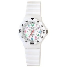 Q&Q Waterdicht Kinderhorloge Wit 32mm