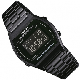 Casio Multi-Alarm Stopwatch Horloge All-Black 35mm