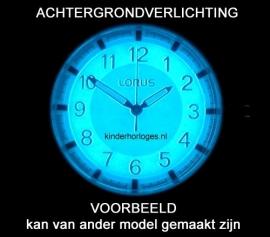 Lorus Kinderhorloge Wijzerplaatverlichting 10ATM Donkerblauw