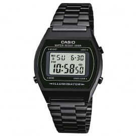 Casio Multi-Alarm Stopwatch Horloge Black 35mm