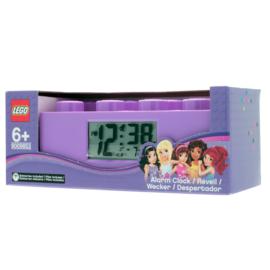 LEGO Friends Digitale Wekker Paars