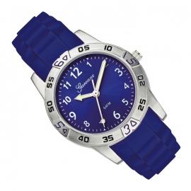 Garonne Rubberen Schakelband Blauw Kinderhorloge 29 mm