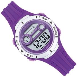 Tekday Stopwatch Kinderhorloge Alarm 100m Paars