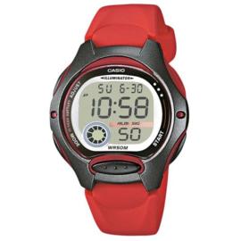 Casio Kinderhorloge Digitaal Alarm Rood 35mm