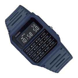 Casio Rekenmachine Horloge Blauw 34mm