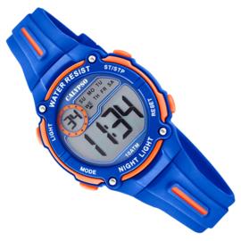 Calypso Digitaal Chrono-Alarm Kinderhorloge 33mm Blauw