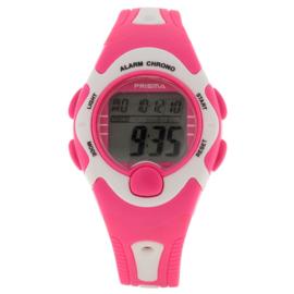 Prisma Digitaal Meidenhorloge Roze 5 Alarmen + Stopwatch