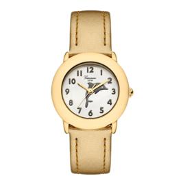 Garonne Meisjes Horloge met Dolfijn Goud 5ATM