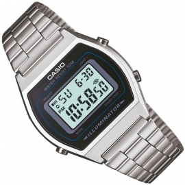Casio Multi-Alarm Stopwatch Horloge Silver 35mm