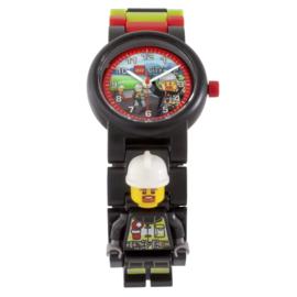 LEGO City Brandweer Schakel-Minifiguur Kinderhorloge