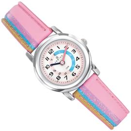 Certus Meisjes Horloge Kermis 26mm Lichtblauw