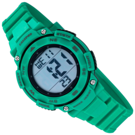 Calypso Digitaal Stopwatch Kinderhorloge 10ATM 37mm Mintgroen